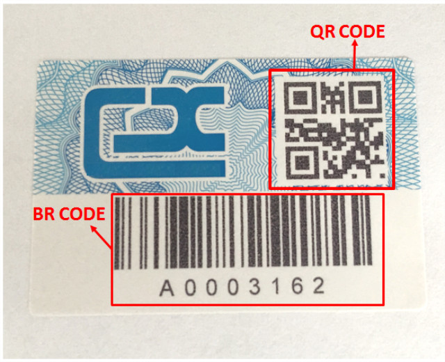 promotional security scratch off labels from China for package-1